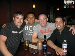 Me, Luis, Jerry, and Frank